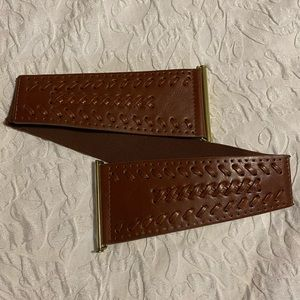 Accessories - EUC Brown Belt